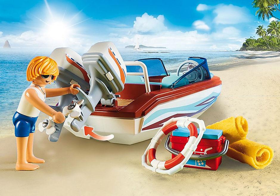 9428 Lancha Motora con motor submarino detail image 7