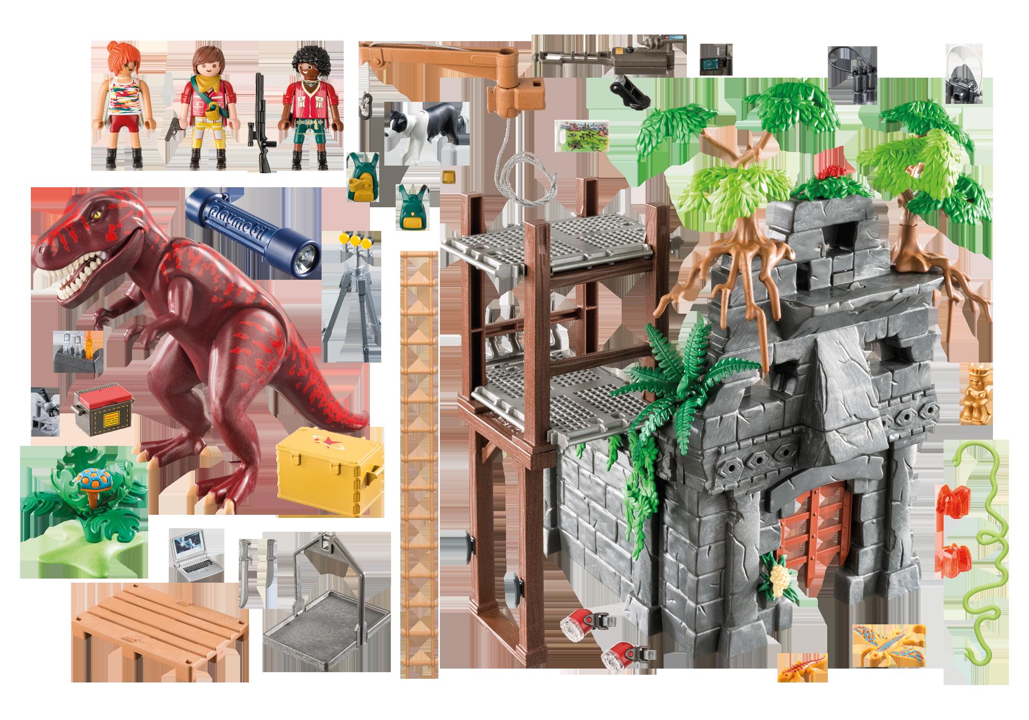 http://media.playmobil.com/i/playmobil/9429_product_box_back/Campamento Base con T-Rex