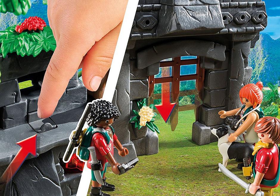 9429 Acampamento Base com T-Rex detail image 6