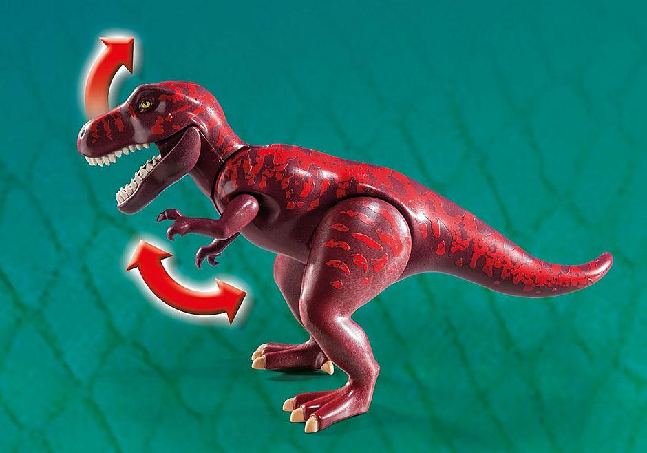 9429 Acampamento Base com T-Rex detail image 8