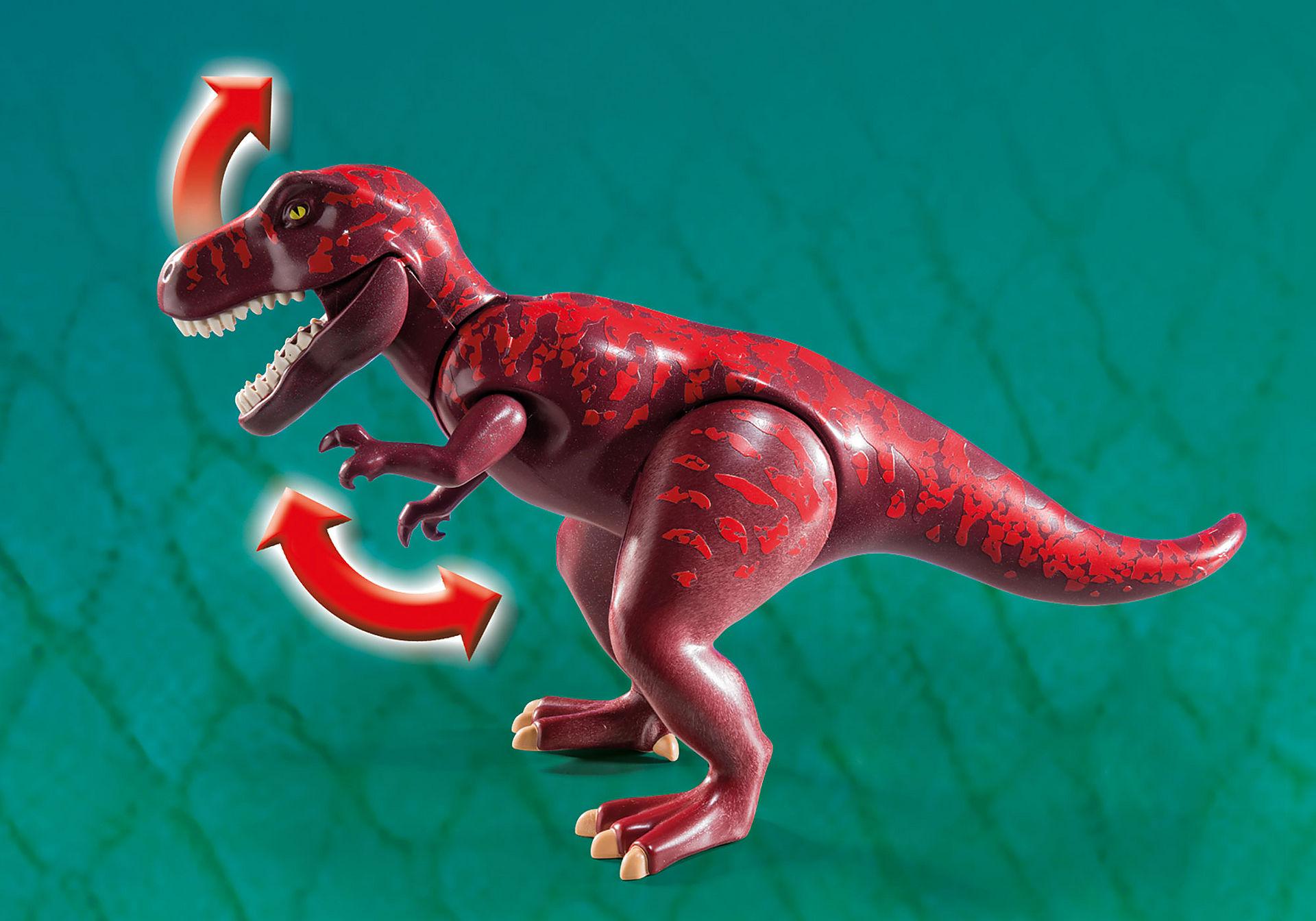 9429 Basiskamp van de avonturiers met T-Rex zoom image8