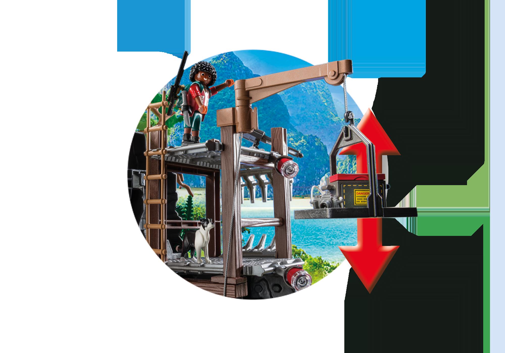 http://media.playmobil.com/i/playmobil/9429_product_extra5/Acampamento Base com T-Rex