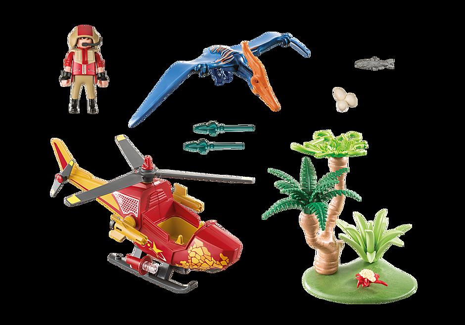 9430 Helikopter met Pteranodon detail image 4