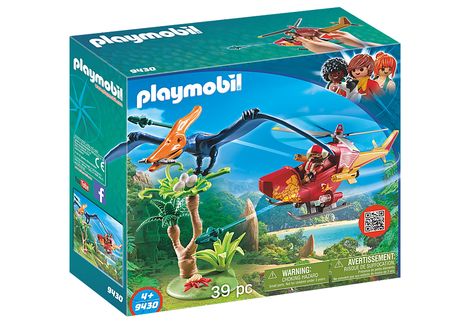 9430 Helicóptero con Pterosaurio detail image 3
