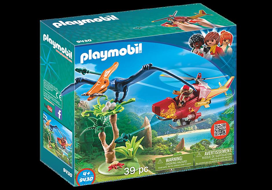 9430 Helikopter med flygosaurus detail image 3