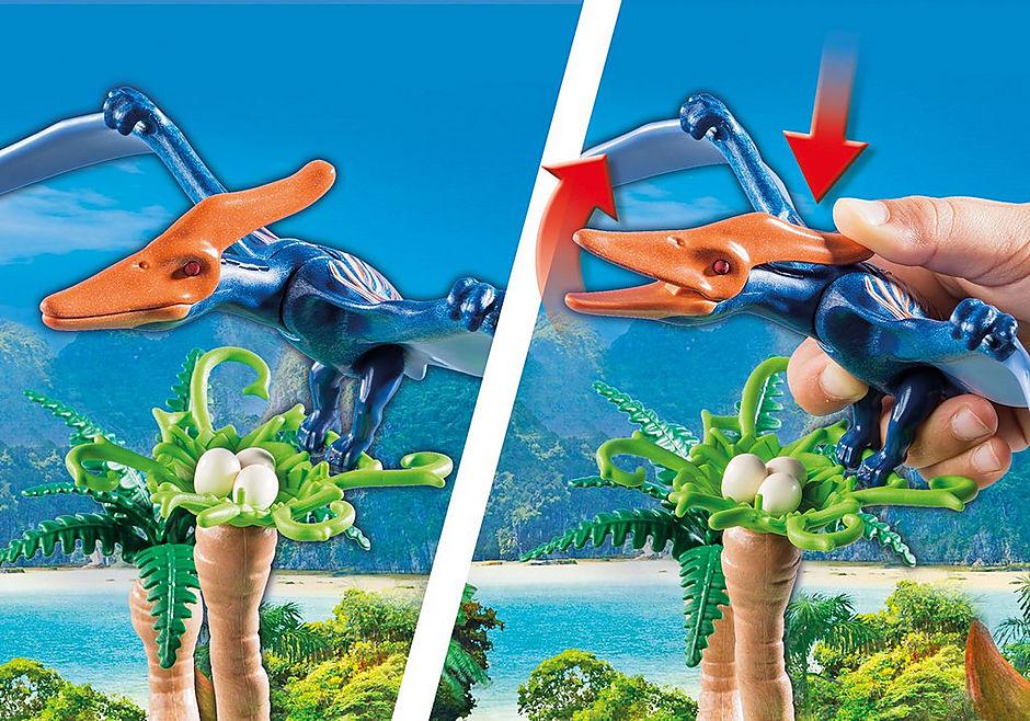 9430 Helikopter med flygosaurus detail image 5