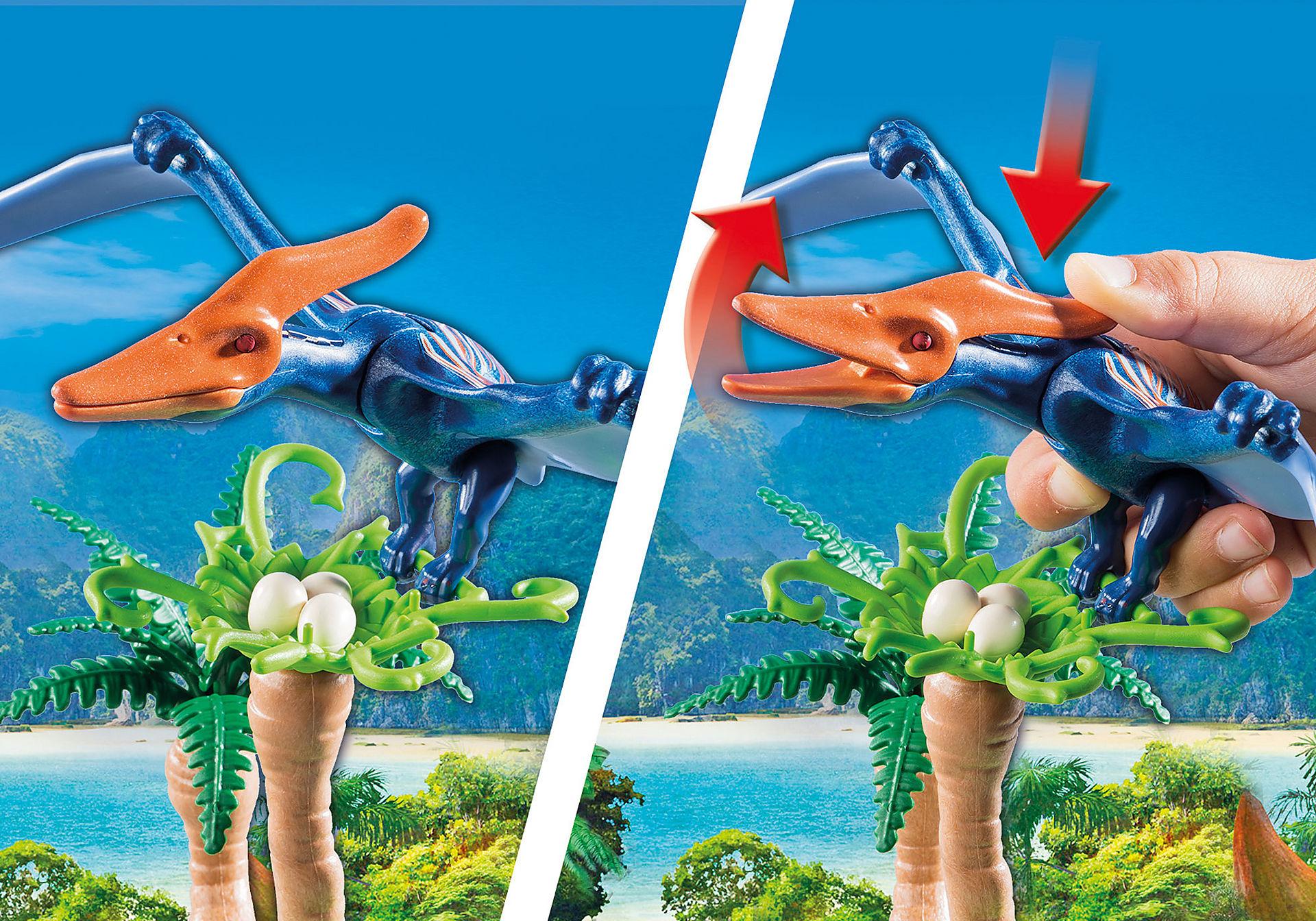 9430 Helikopter med flygosaurus zoom image5