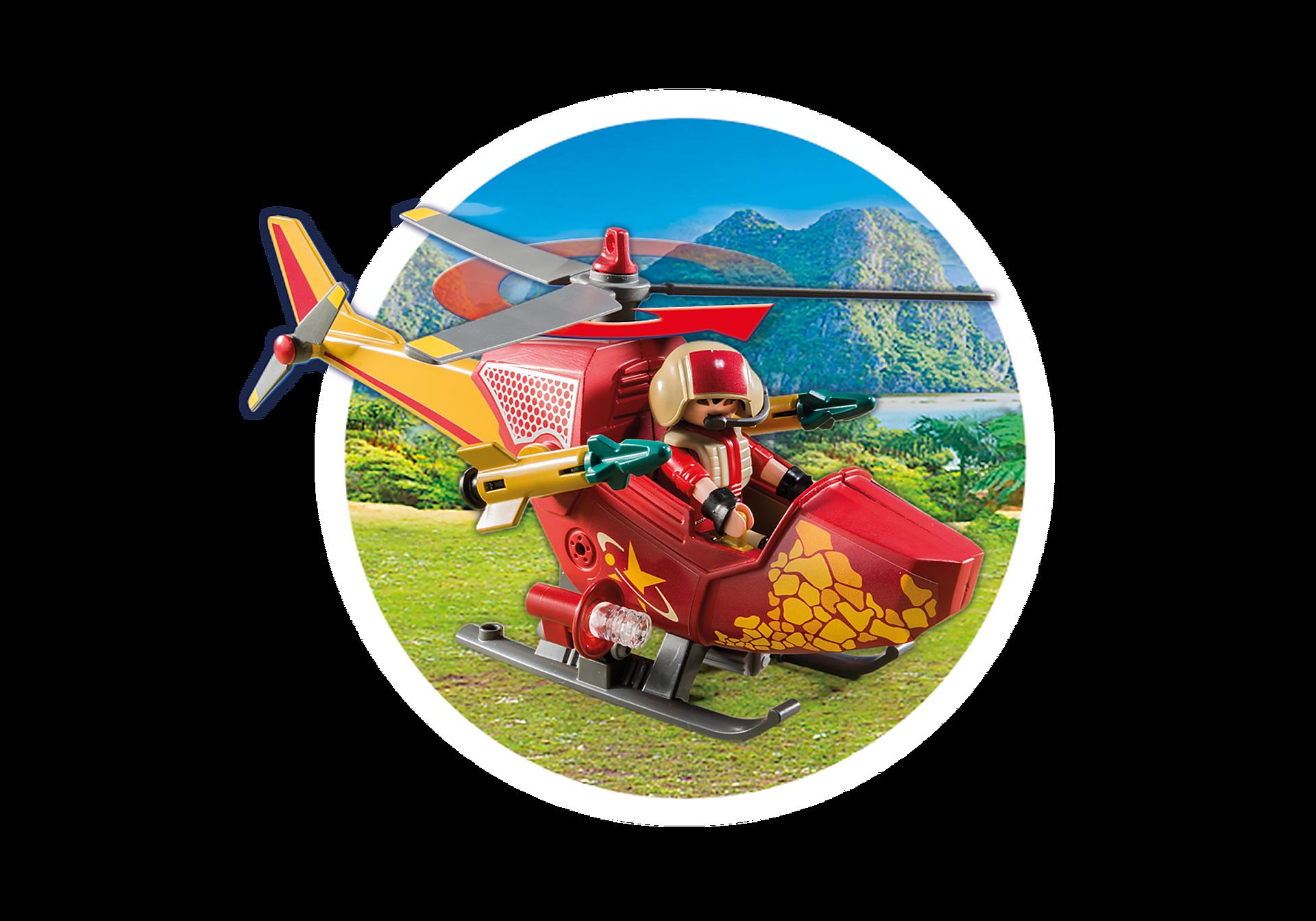 9430 Hélicoptère et Ptéranodon zoom image7