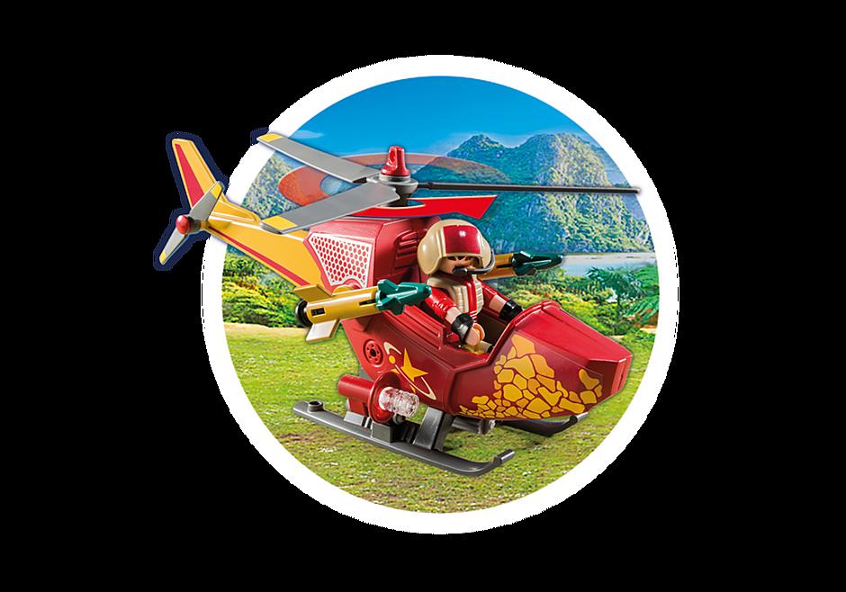 9430 Helikopter med flygosaurus detail image 7