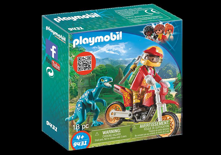 9431 Εξερευνητής με Motocross και μικρό δεινόσαυρο detail image 3