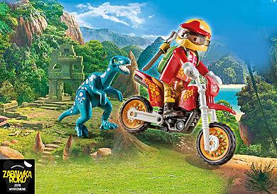 9431 Rower motocrossowy z raptorem