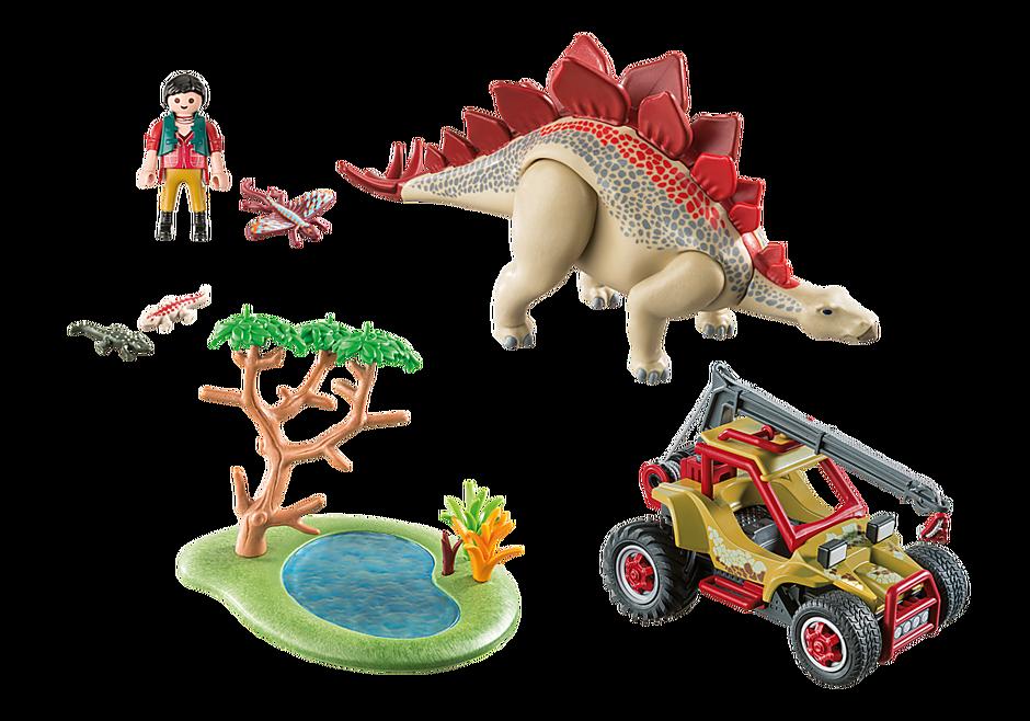 9432 Véhicule et stégosaure detail image 4