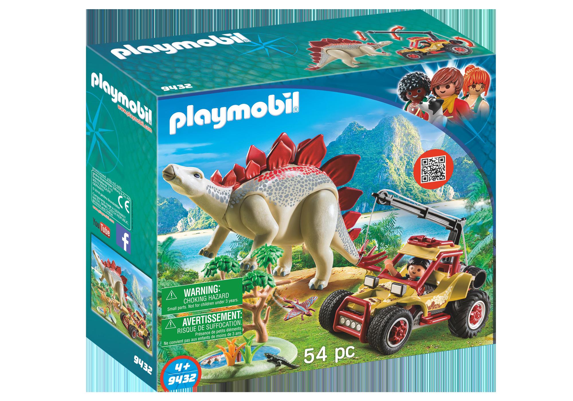 http://media.playmobil.com/i/playmobil/9432_product_box_front/Εξερευνητικό όχημα και Στεγόσαυρος