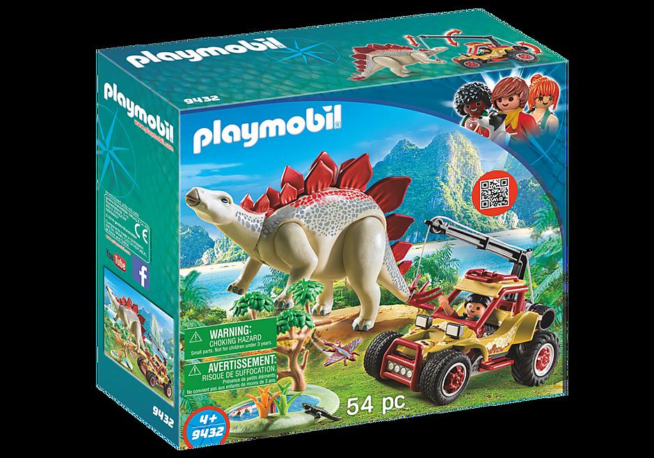 9432 Forskarmobil med stegosaurus detail image 3