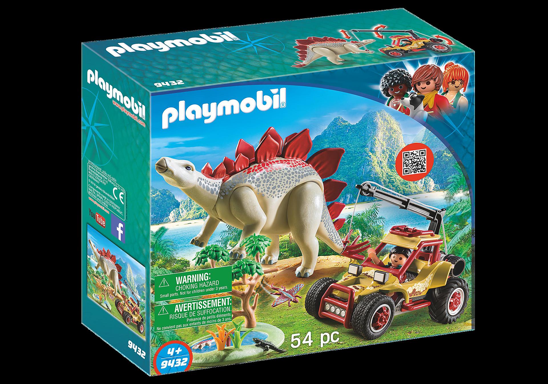 9432 Forskarmobil med stegosaurus zoom image3