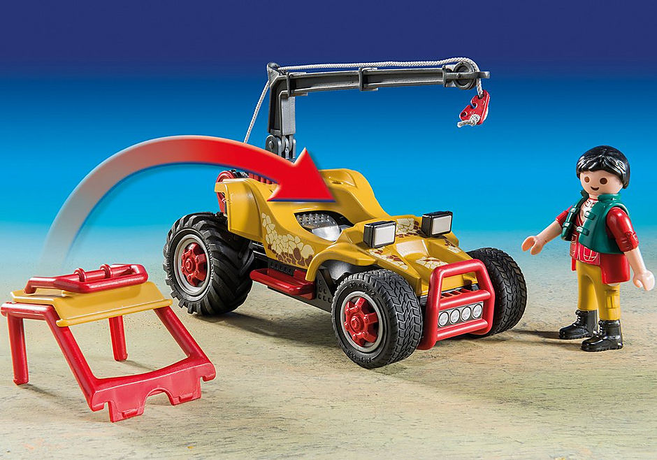 9432 Forskermobil med Stegosaurus detail image 5