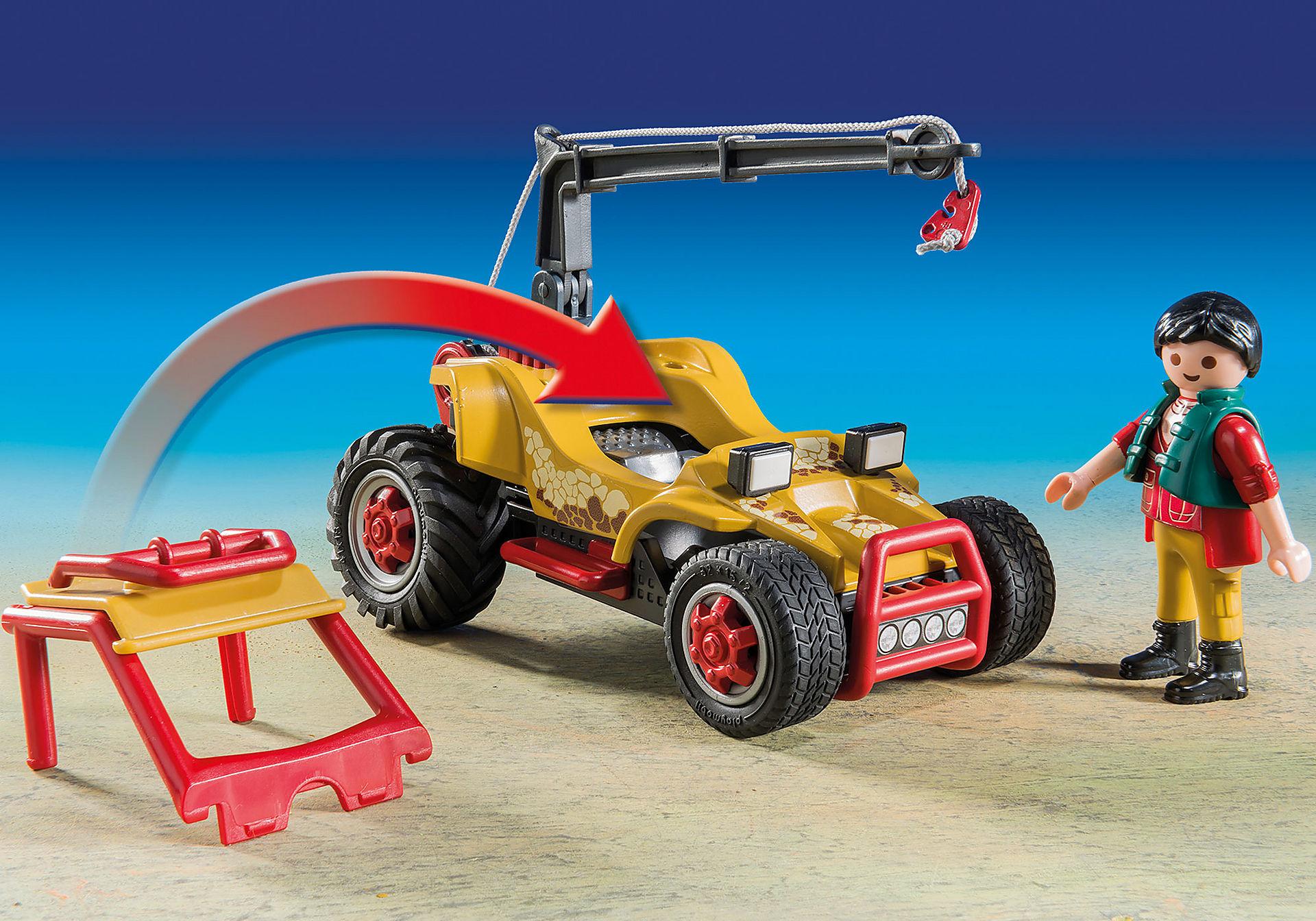 9432 Vehicle With Stegosaurus zoom image5
