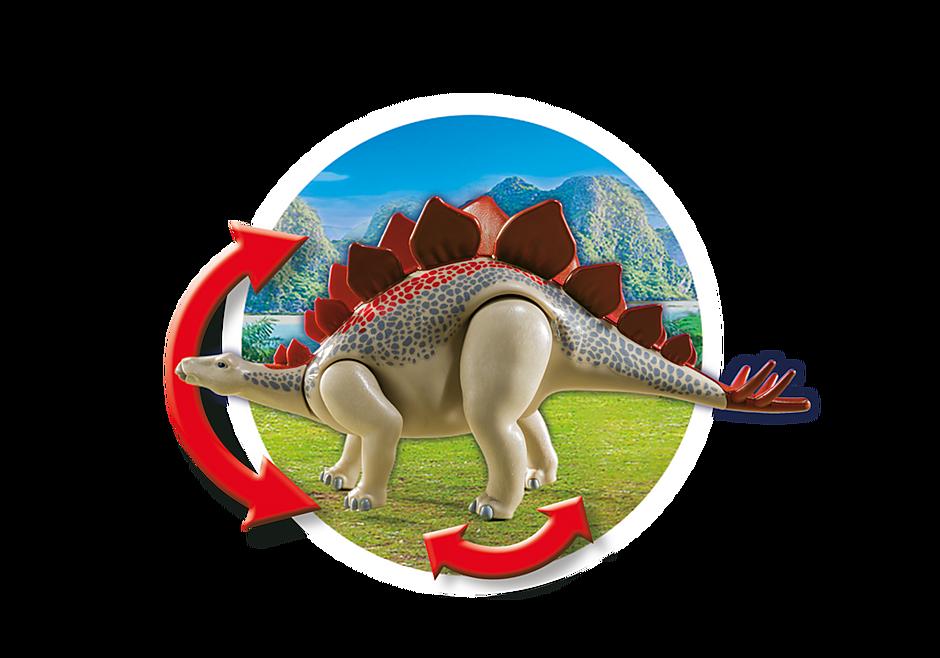 9432 Véhicule et stégosaure detail image 6