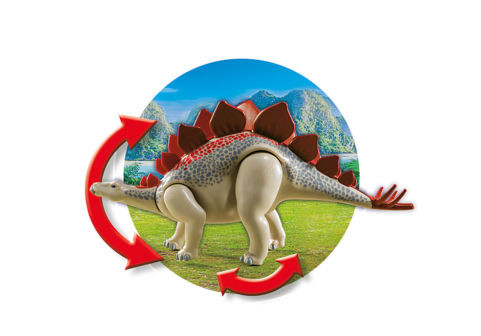 9432 Veículo com Estegossauro detail image 6