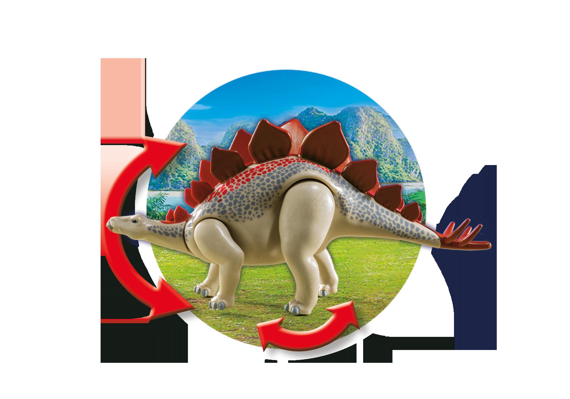 http://media.playmobil.com/i/playmobil/9432_product_extra2/Vehículo Explorador con Estegosaurio