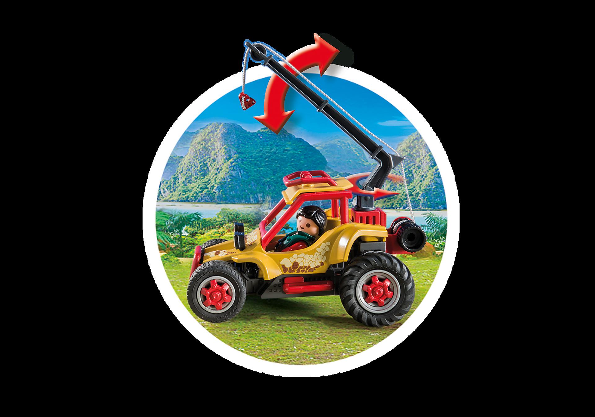http://media.playmobil.com/i/playmobil/9432_product_extra3/Εξερευνητικό όχημα και Στεγόσαυρος