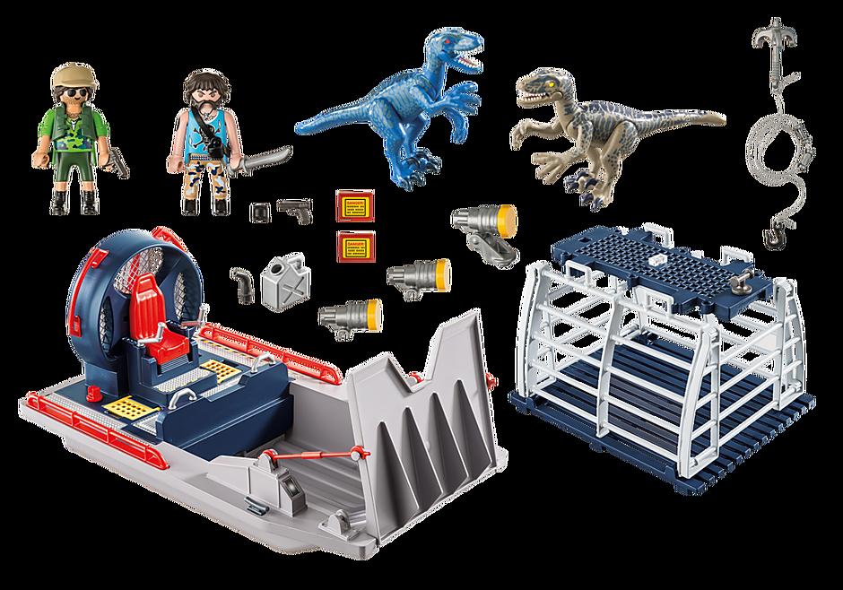9433 Propellerbåt med dinosauriebur detail image 4