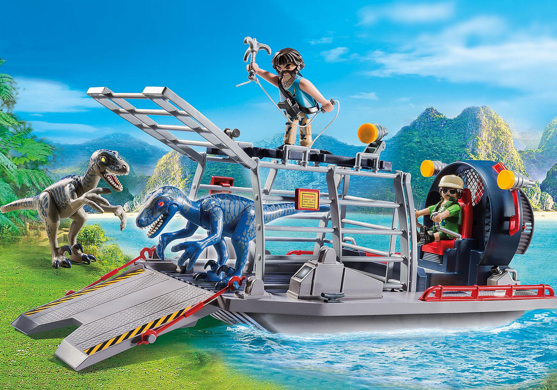 9433 Barca con gabbia per dinosauri zoom image1