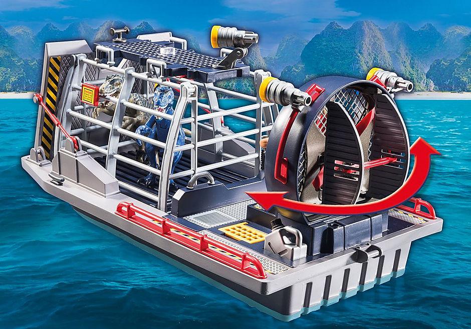 9433 Luchtkussenboot met dinokooi detail image 6