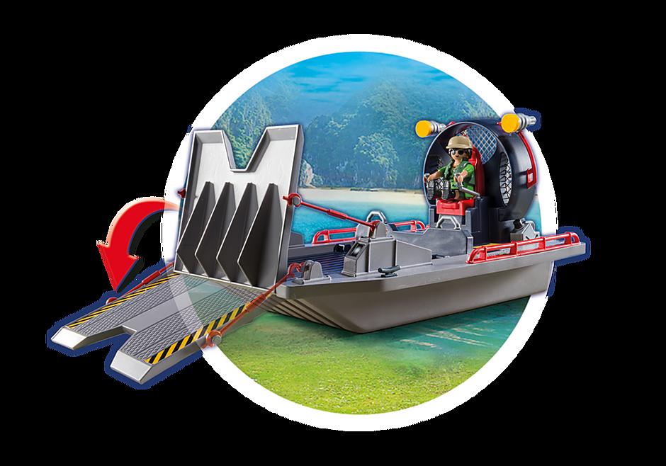 9433 Luchtkussenboot met dinokooi detail image 8