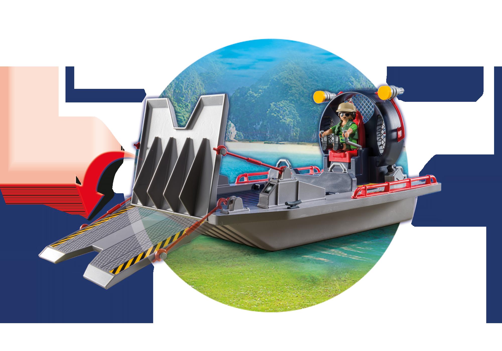 http://media.playmobil.com/i/playmobil/9433_product_extra4/Luchtkussenboot met dinokooi