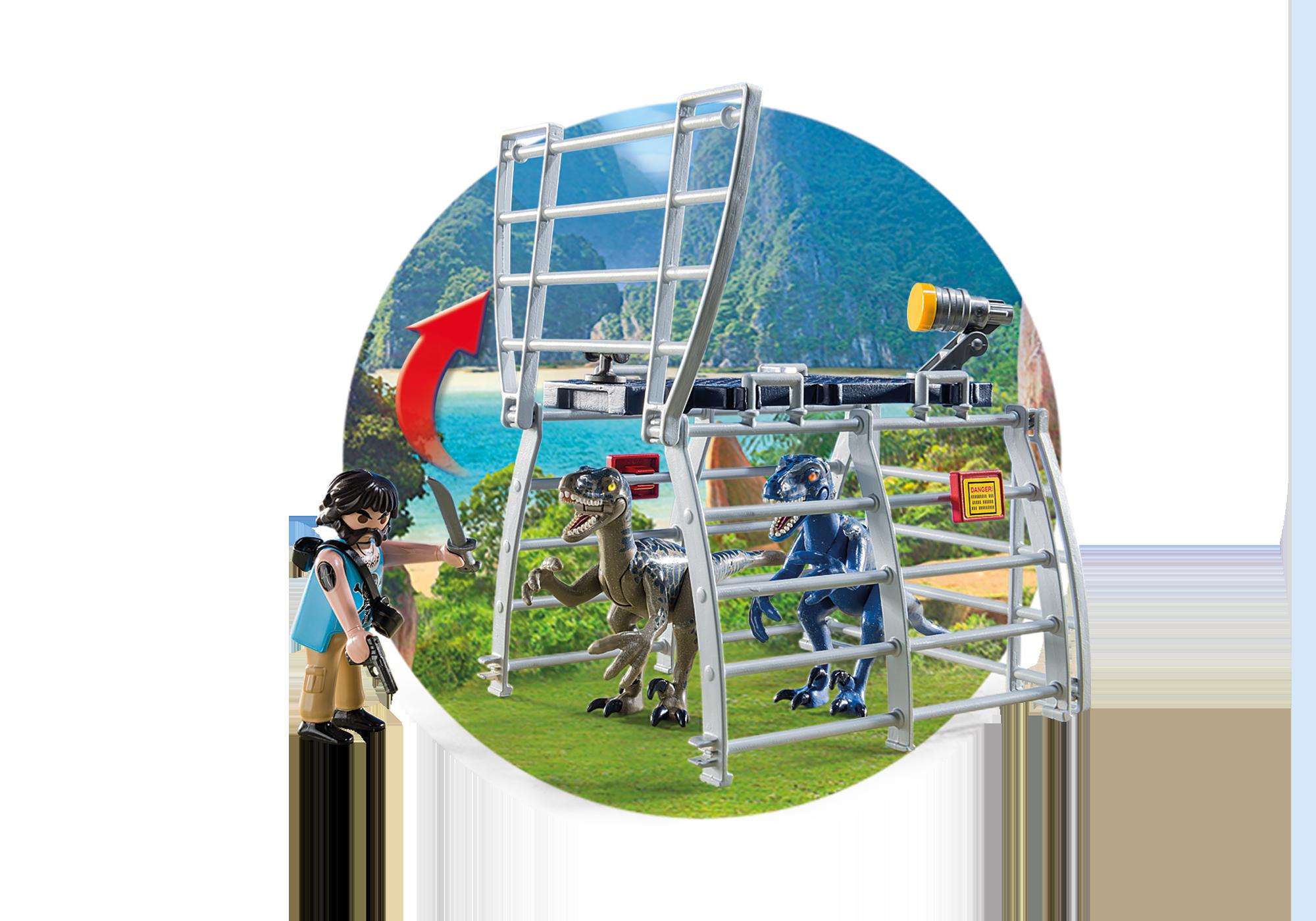 http://media.playmobil.com/i/playmobil/9433_product_extra5/Propellerbåt med dinosauriebur