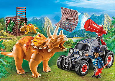 9434 Offroader med dinosaurernet