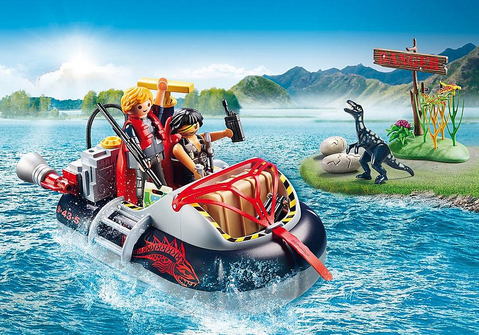 9435 Aerodeslizador con motor submarino detail image 1