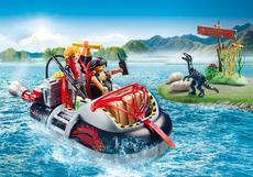 Playmobil Dino Hovercraft With Underwater Motor 9435