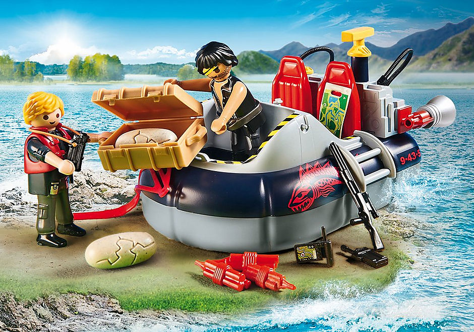 http://media.playmobil.com/i/playmobil/9435_product_extra2/Dino Hovercraft with Underwater Motor