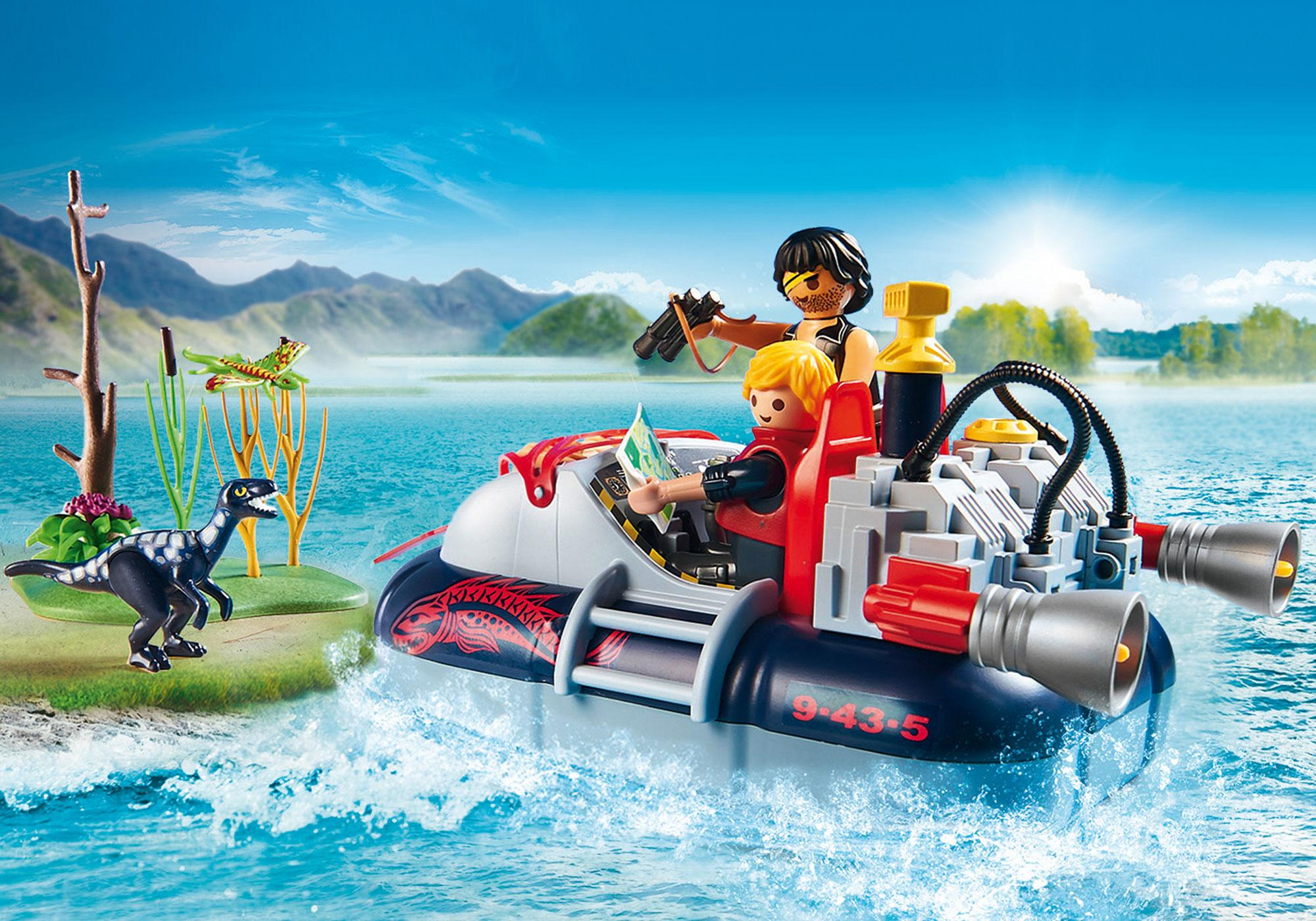 http://media.playmobil.com/i/playmobil/9435_product_extra3/Dino Hovercraft with Underwater Motor