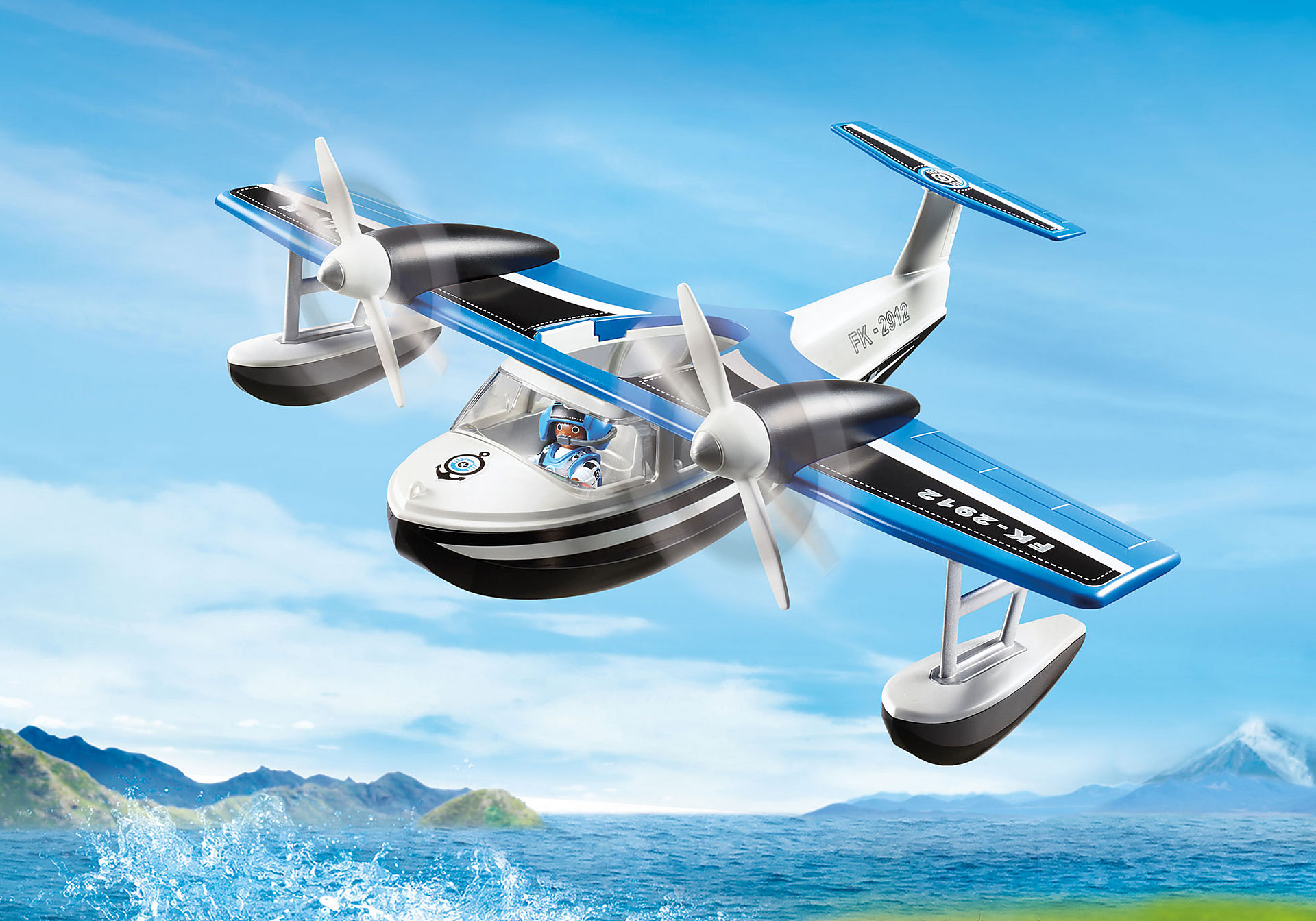 9436 Polizei-Wasserflugzeug zoom image1