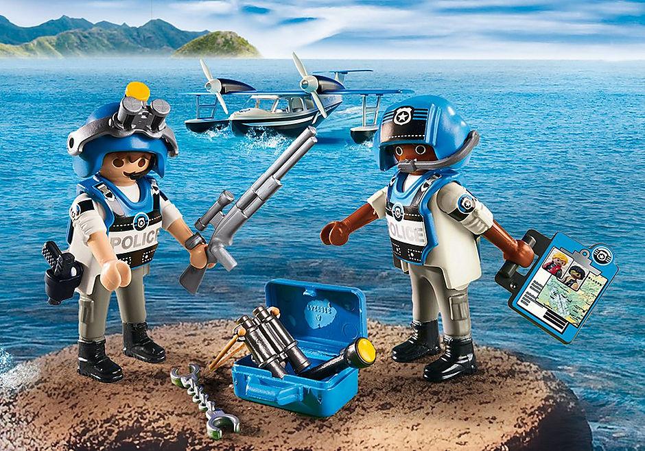 9436 Police Seaplane detail image 5