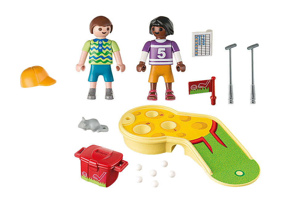 http://media.playmobil.com/i/playmobil/9439_product_box_back/Børn ved minigolfspil