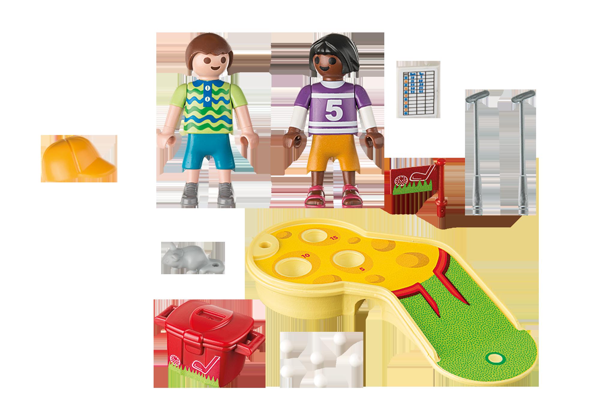 http://media.playmobil.com/i/playmobil/9439_product_box_back/Kinder beim Minigolfspiel