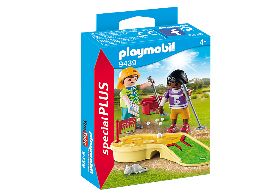 http://media.playmobil.com/i/playmobil/9439_product_box_front/Children Minigolfing
