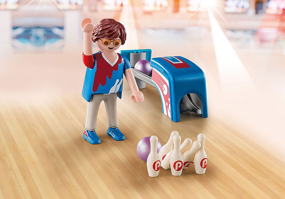 9440 Giocatore di bowling detail image 1