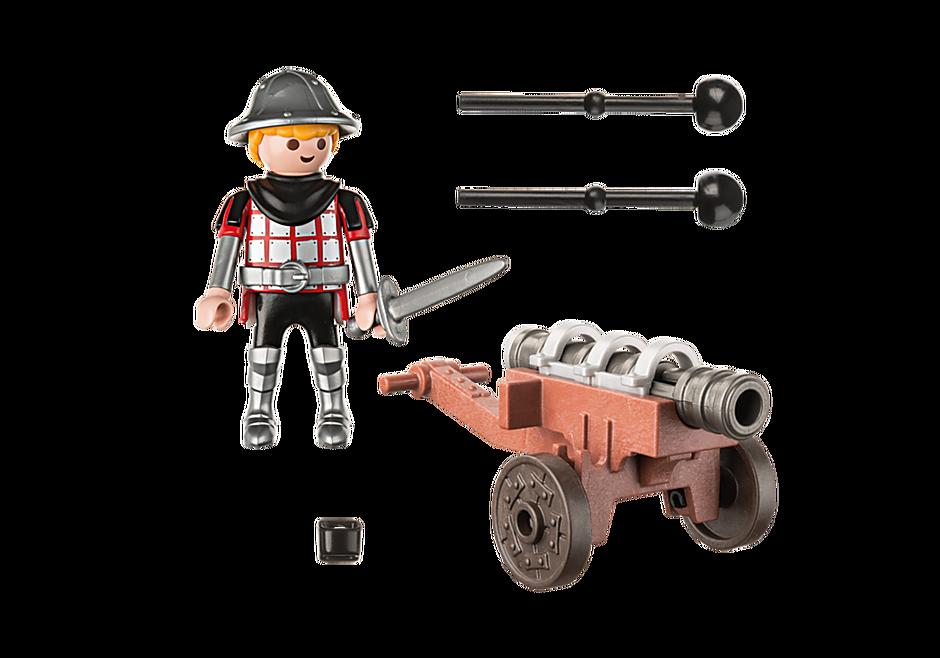 9441 Ridder med kanon detail image 4