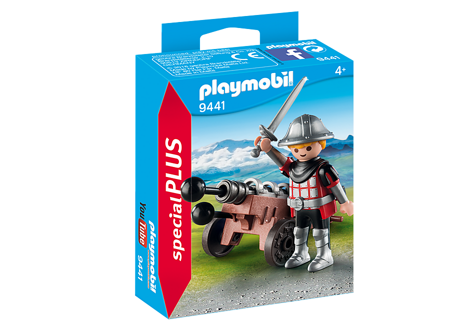 9441 Cavaleiro com Canhão detail image 3