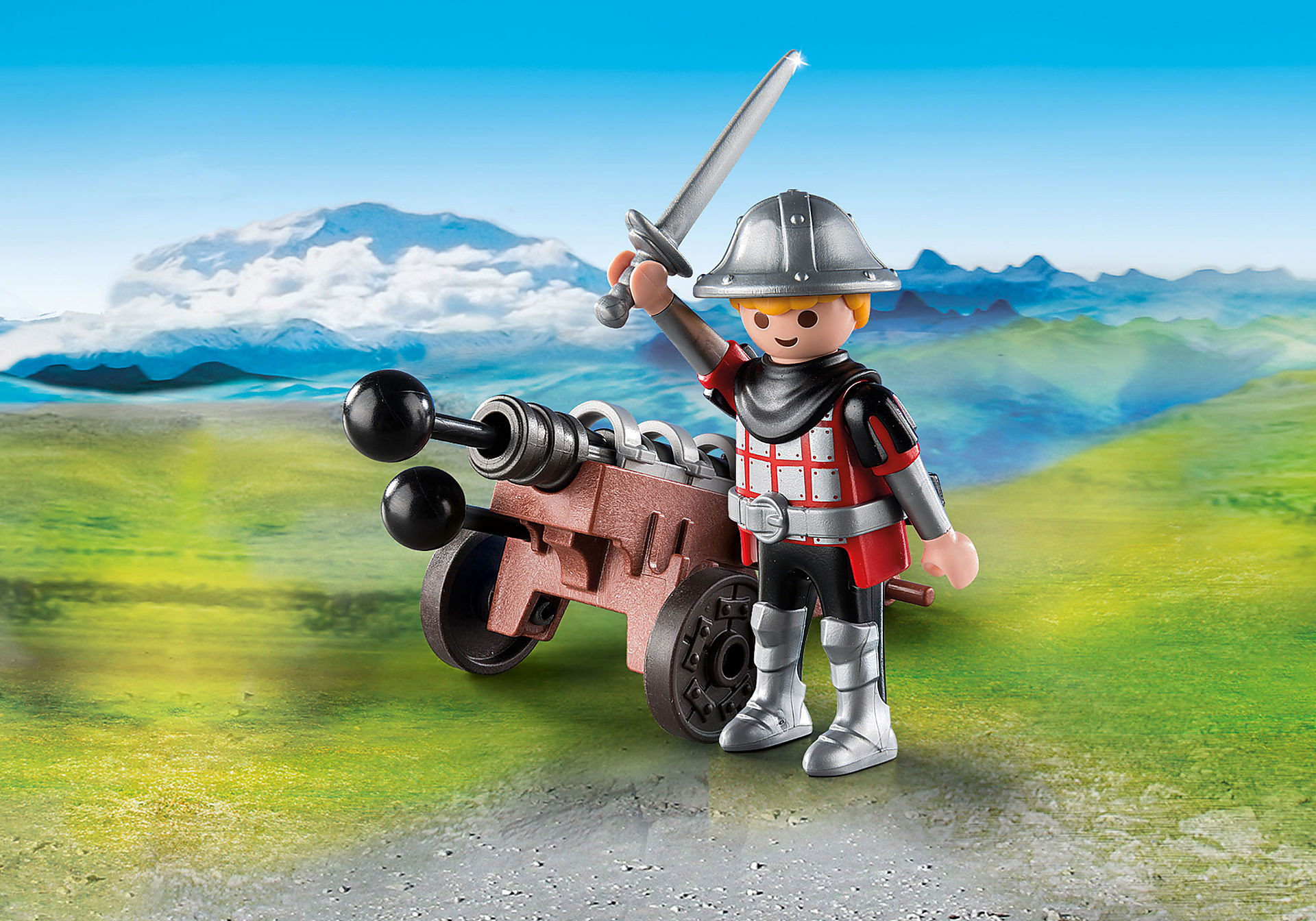 9441 Ridder med kanon zoom image1