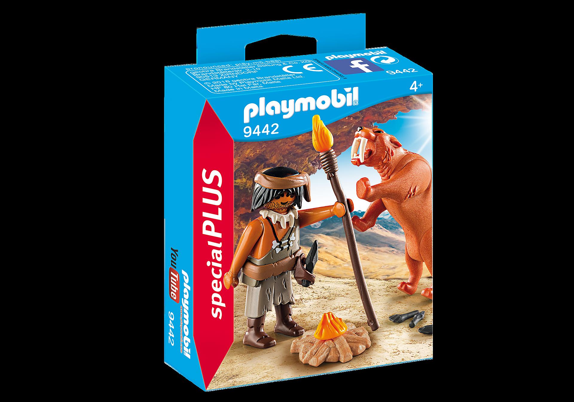http://media.playmobil.com/i/playmobil/9442_product_box_front/Neandertal con Tigre Dientes de Sable