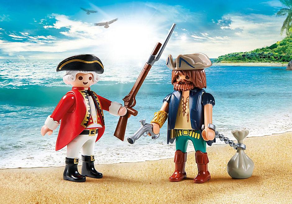 http://media.playmobil.com/i/playmobil/9446_product_detail/Duo Pack Pirat i żołnierz
