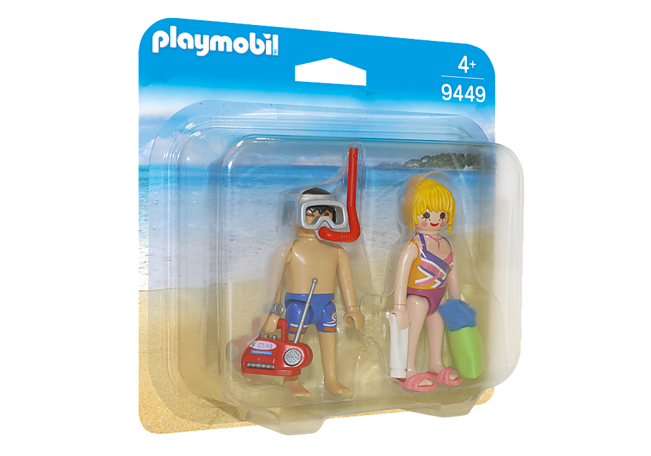http://media.playmobil.com/i/playmobil/9449_product_box_front/Duo Pack Λουόμενοι στην παραλία