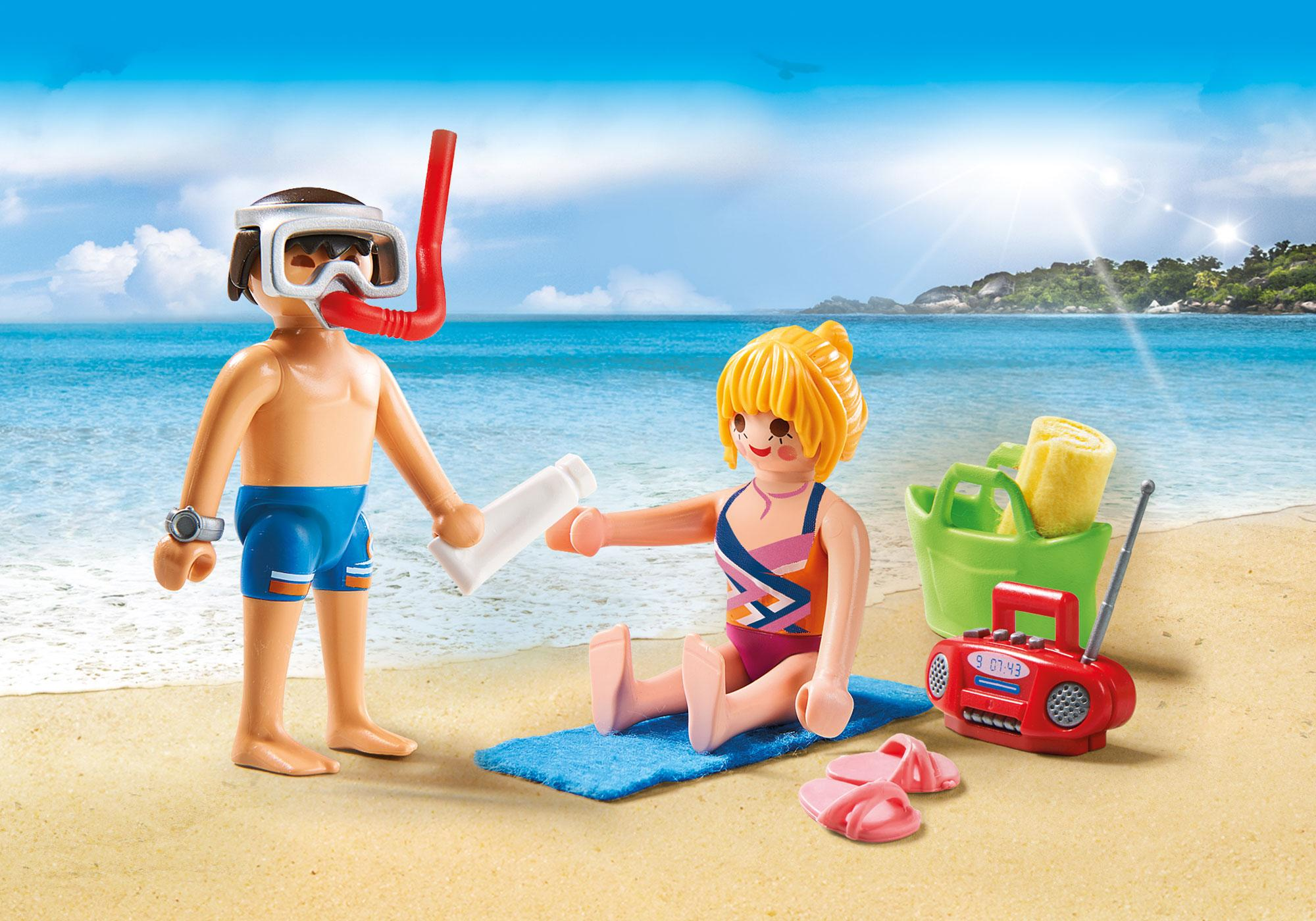 http://media.playmobil.com/i/playmobil/9449_product_detail/Duo Pack Λουόμενοι στην παραλία