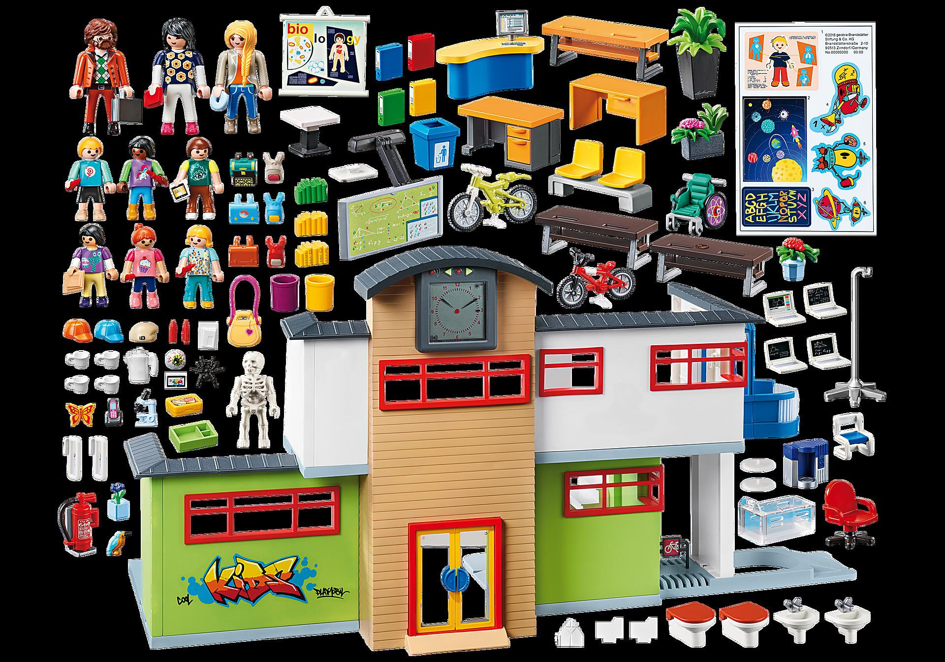 http://media.playmobil.com/i/playmobil/9453_product_box_back/Große Schule mit Einrichtung